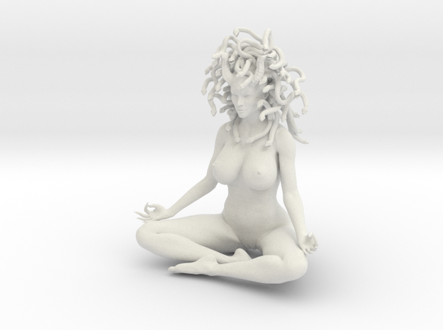 Medusa sitting