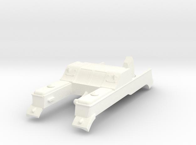 Kettenkrad TOP  in White Processed Versatile Plastic