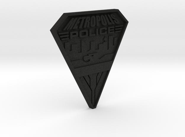 Replica Metropolis PD badge 3d printed