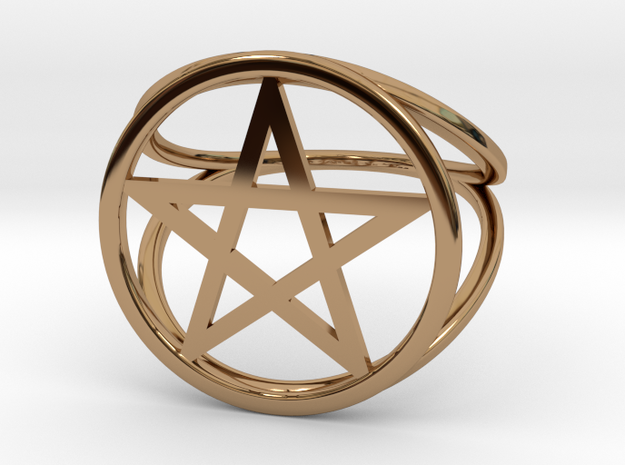 Pentacle ring (customize)