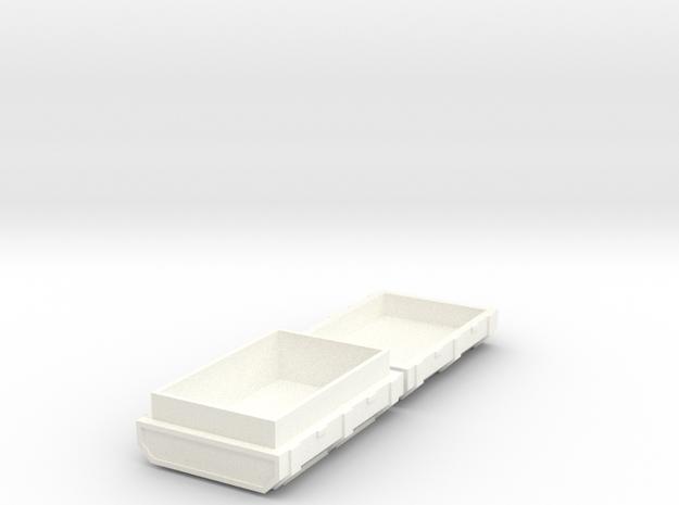 FTM Ammo Crate in White Processed Versatile Plastic