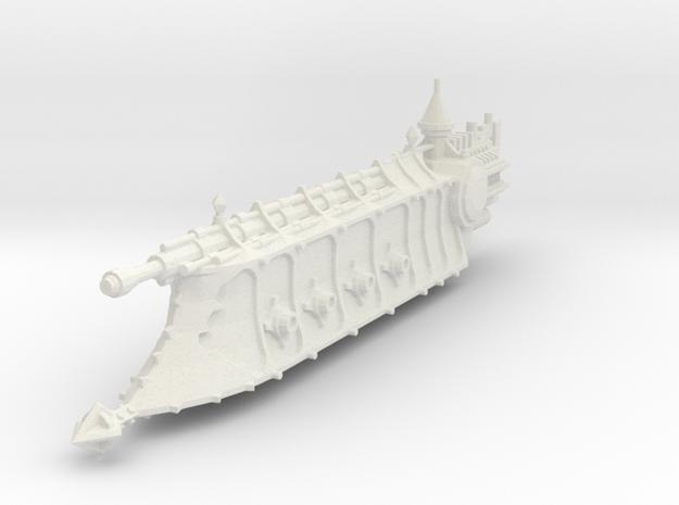 Crucero Antiguo clase Dominador in White Natural Versatile Plastic