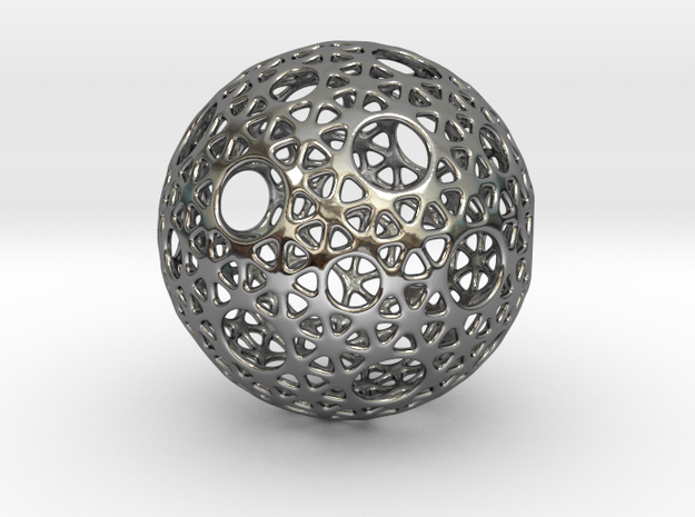 Silver Snub 3d printed