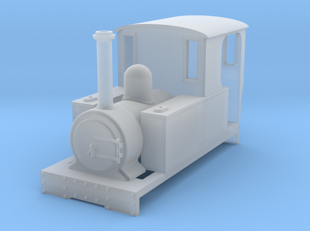 009 'Tiny Trains' Preset Side Tank in Smooth Fine Detail Plastic