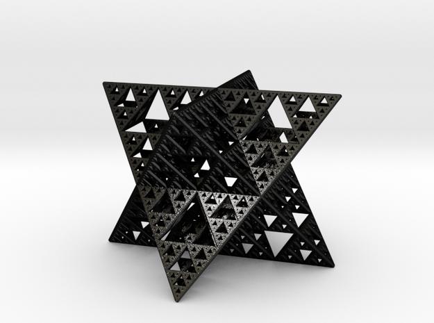 Sierpinski Octostar 5cm 3d printed