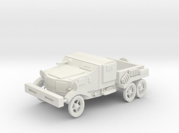 Armour Pickup in White Natural Versatile Plastic