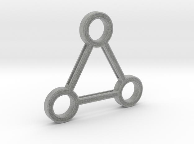 Triforce Artifact in Metallic Plastic