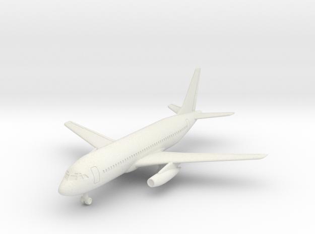 Dassault Mercure w/Gear in White Natural Versatile Plastic: 6mm