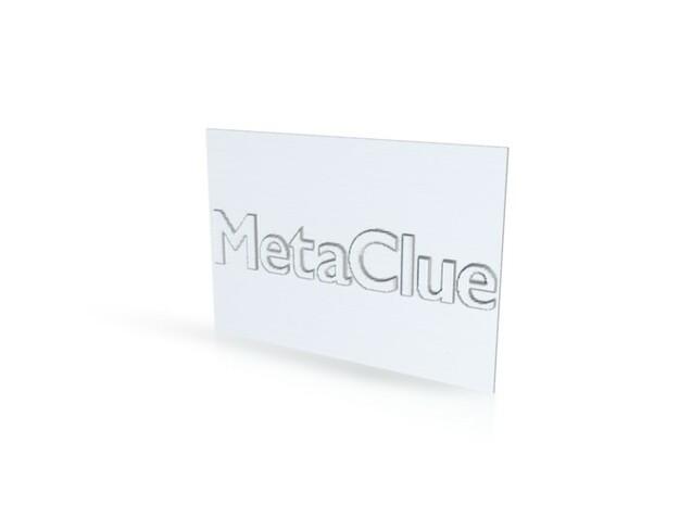 Shapeways Stamp maker MetaClue 3d printed