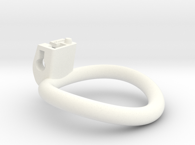 Cherry Keeper Ring - 46mm in White Processed Versatile Plastic
