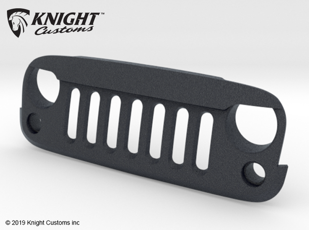AW20003 Wraith 1.9 ANGRY Grill in Black Natural Versatile Plastic