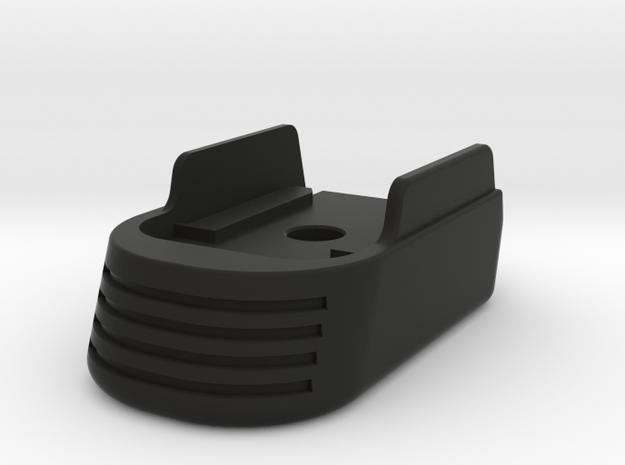 SOLID Medium Full Grip Base Pad for SIG P365 in Black Premium Versatile Plastic