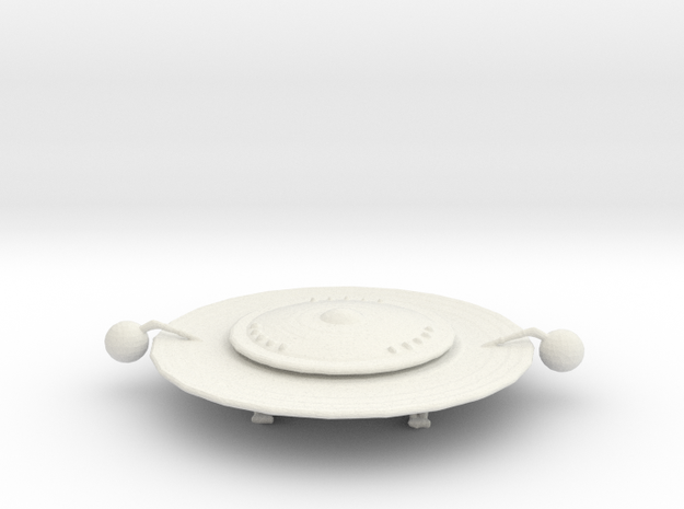 Kzinti starship in White Natural Versatile Plastic