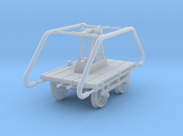 HOn3 Sheffield No 5 Narrow Gauge Handcar in Smooth Fine Detail Plastic