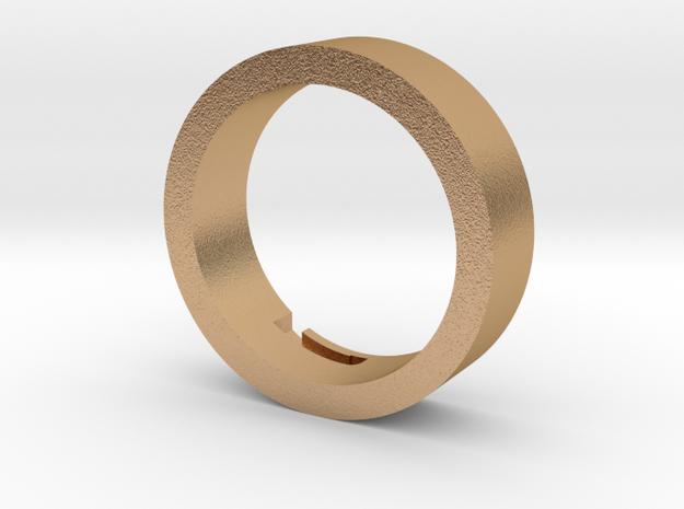 Plug Core D in Natural Bronze
