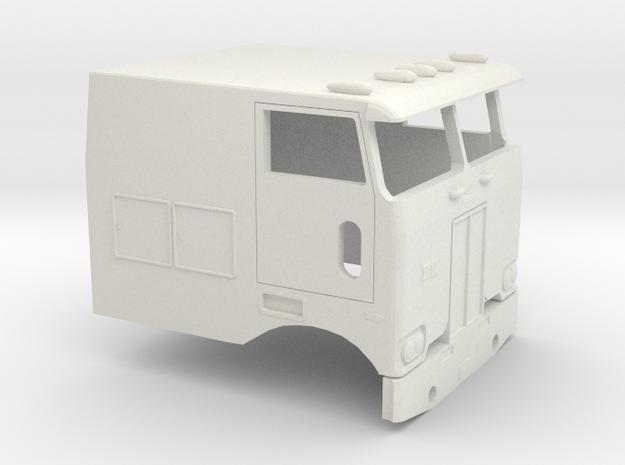 1/50 1976 Peterbilt 352 Cab in White Natural Versatile Plastic