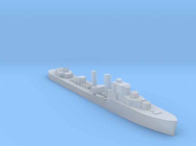 HMS Icarus destroyer 1:3000 WW2 in Smoothest Fine Detail Plastic