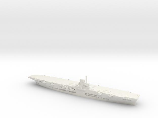 HMS Ark Royal (91) in White Natural Versatile Plastic: 1:1800