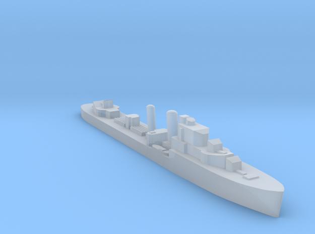 HMS Isis destroyer 1:1800 WW2 in Smoothest Fine Detail Plastic