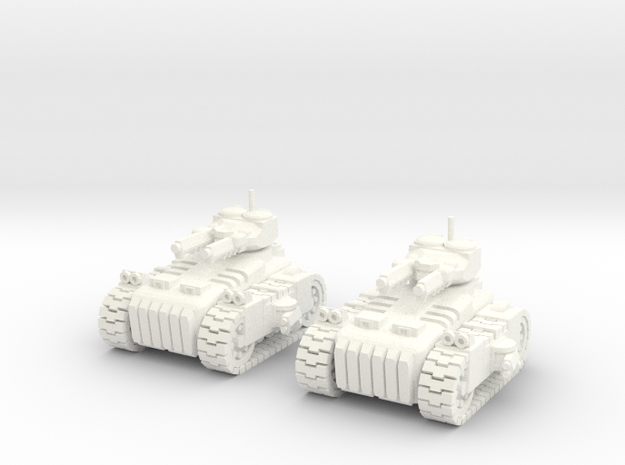6mm - Urban MBT in White Processed Versatile Plastic