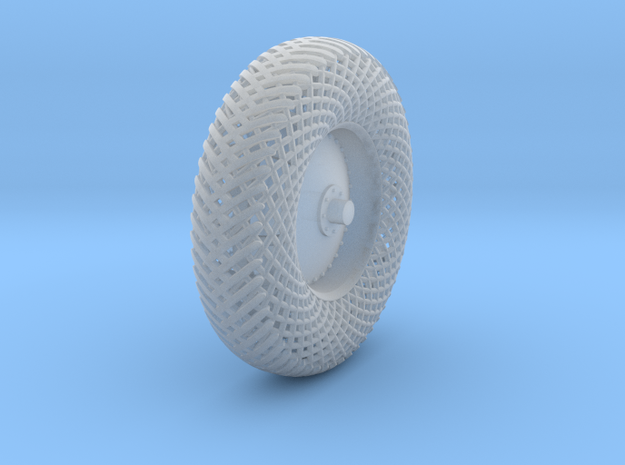Meshed aft left wheel in Smooth Fine Detail Plastic