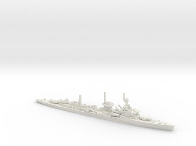 German Leipzig-Class Crusier in White Natural Versatile Plastic