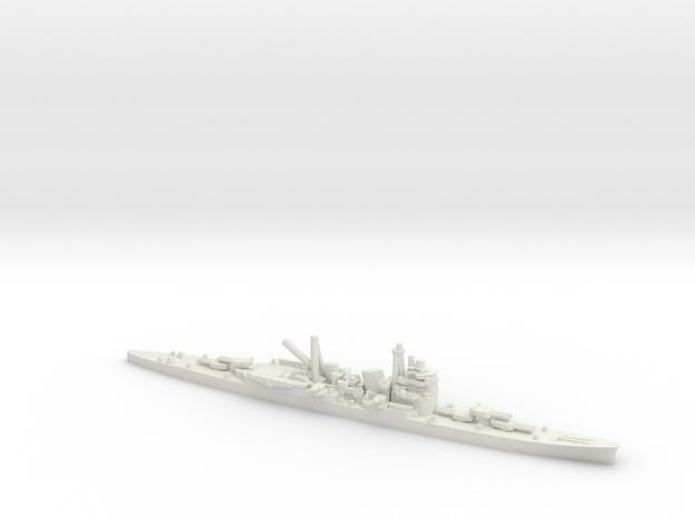 Japanese Myoko-Class Cruiser in White Natural Versatile Plastic