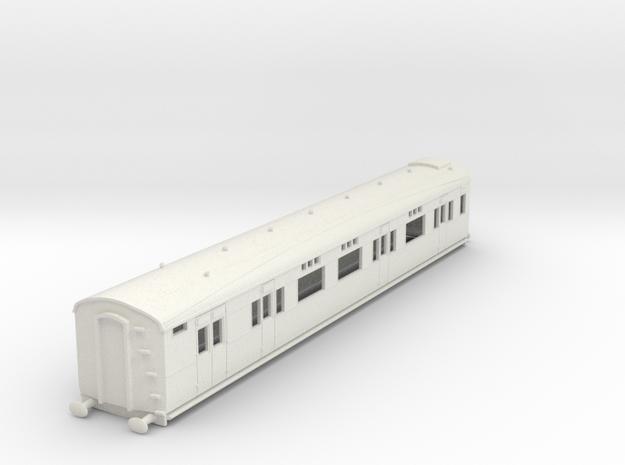 o-100-sr-d2654-gen-saloon-brake-coach in White Natural Versatile Plastic