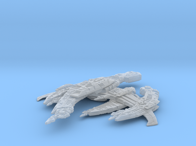 BREEN-Warship in Smooth Fine Detail Plastic