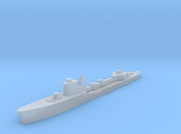 Italian Aldebaran torpedo boat 1:1800 WW2 in Smoothest Fine Detail Plastic