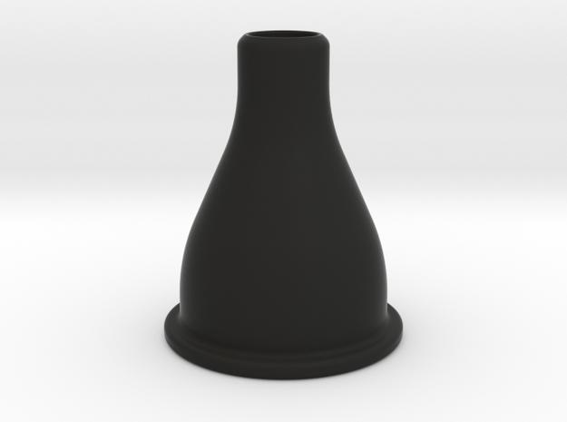 "Camper Sink strainer adapter to 5/8"" Tube  in Black Natural Versatile Plastic"
