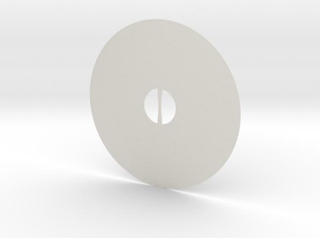 Viking Shield Mk. 1  in White Natural Versatile Plastic