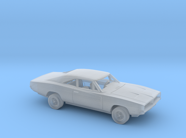 1/87 1969 Dodge  Charger Kit in Smooth Fine Detail Plastic