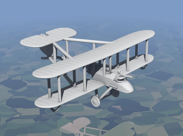 Vickers F.B.9 (various scales) in Gray PA12: 1:144