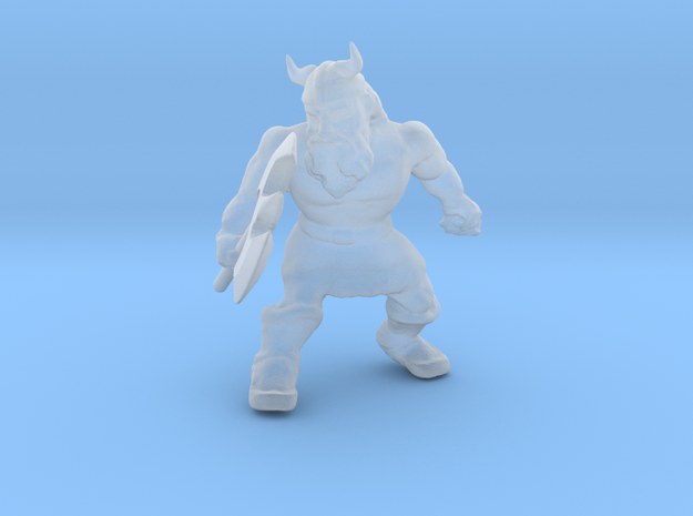 Golden Axe Gilius Thunderhead miniature 2 DnD game in Smooth Fine Detail Plastic