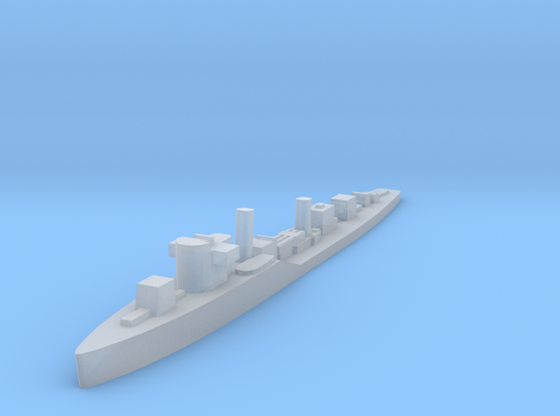 Soviet Molniya guard ship 1:1800 WW2 in Smoothest Fine Detail Plastic