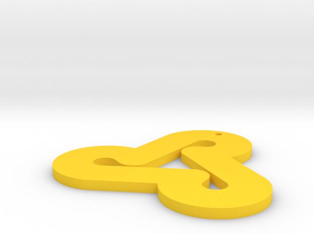 Lecrae Rehab Necklace in Yellow Processed Versatile Plastic