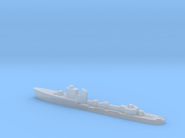 Italian Alcione torpedo boat 1:1800 WW2 in Smoothest Fine Detail Plastic