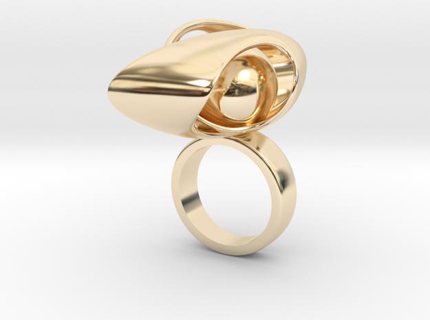 Avenula - Bjou Designs in 14k Gold Plated Brass
