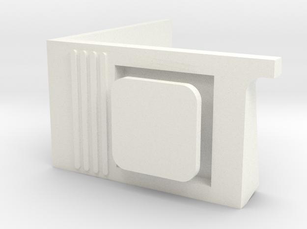 Topall dret 440R in White Processed Versatile Plastic