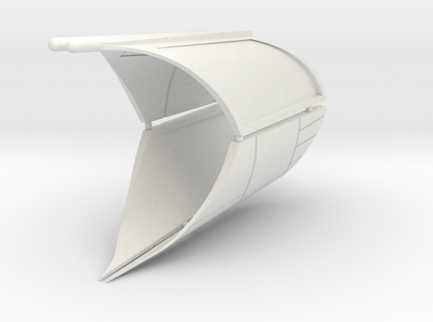 MFR 2 in White Natural Versatile Plastic