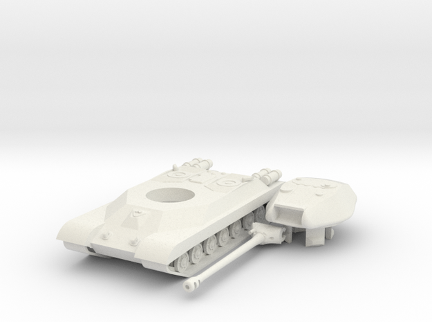 IS-4 in White Natural Versatile Plastic: 15mm
