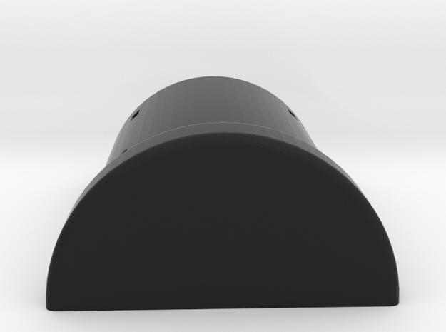 abris anti aerien pour personnel SNCB  in Black Natural Versatile Plastic: 1:87 - HO