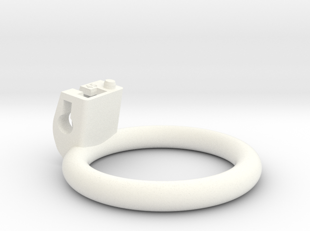 Cherry Keeper Ring - 45mm planar in White Processed Versatile Plastic