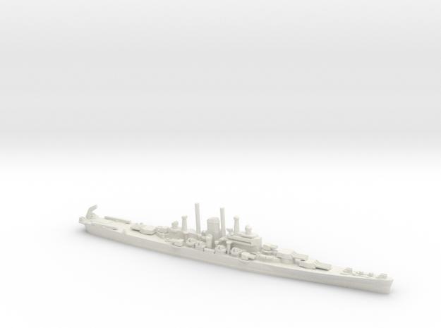 US Des Moines-Class Cruiser in White Natural Versatile Plastic