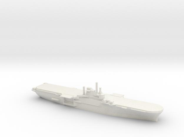 US Iwo Jima-Class Amphibious Assault Ship in White Natural Versatile Plastic