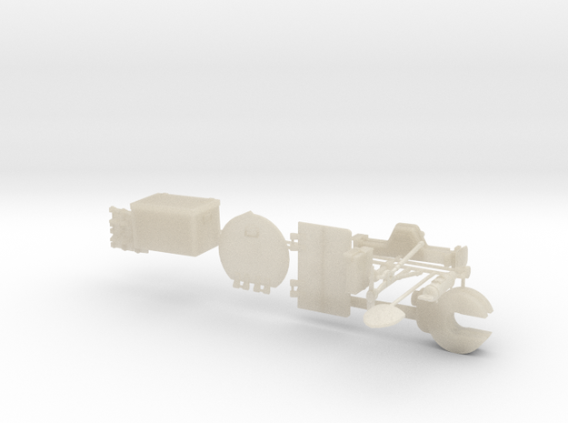 German Panzer 38t 1:18 Scale - Accessories 3d printed
