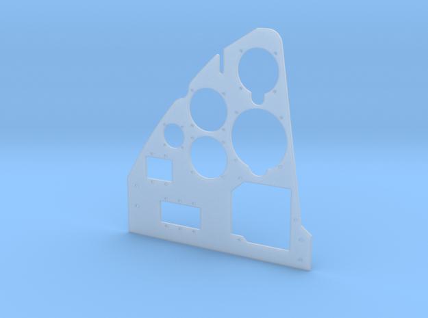Dornier Do 335 A-0 Main Instrument Panel - Left in Smooth Fine Detail Plastic