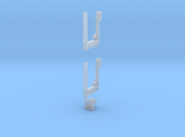 Crane for Salmon wagons in OO gauge in Smooth Fine Detail Plastic