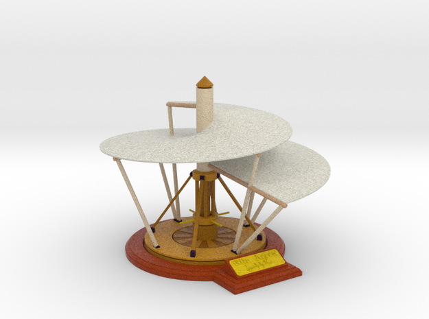 Leonardo da Vinci's Aerial Screw [FCS] 3d printed